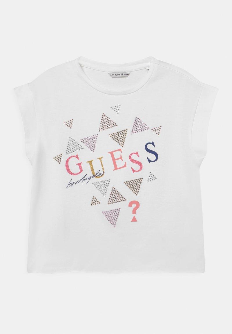 Guess - JUNIOR MIDI  - Camiseta estampada - true white