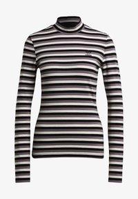 adidas Originals - SPORTS INSPIRED LONG SLEEVE - Camiseta de manga larga - black/owhite - 6