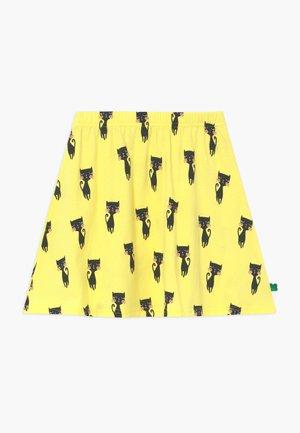 CATS EXCLUSIVE - A-line skjørt - yellow