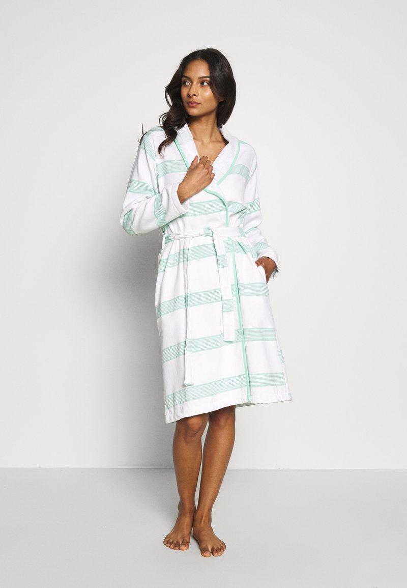 TOM TAILOR - HAMAM BATHROBE - Dressing gown - mint