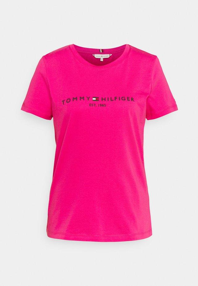 REGULAR TEE - T-shirt imprimé - pink