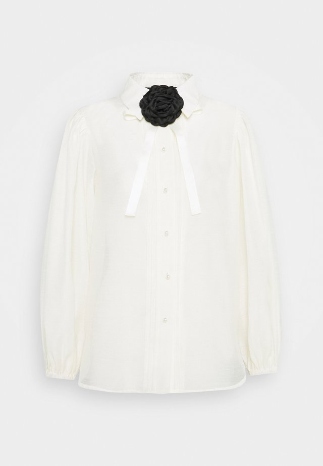 NEW ROLES BOW - Blouse - ivory