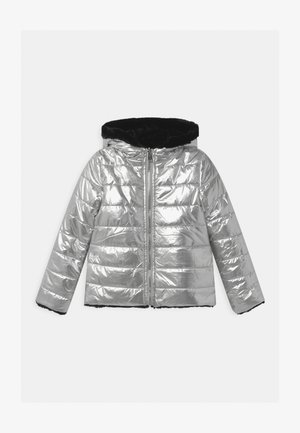 JUNIOR REVERSIBLE - Chaqueta de invierno - gris/silver