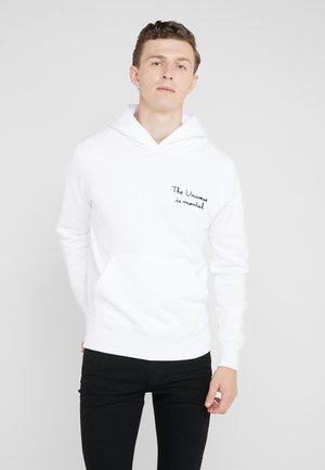 THE UNIVERSE IS MENTAL  - Hoodie - white