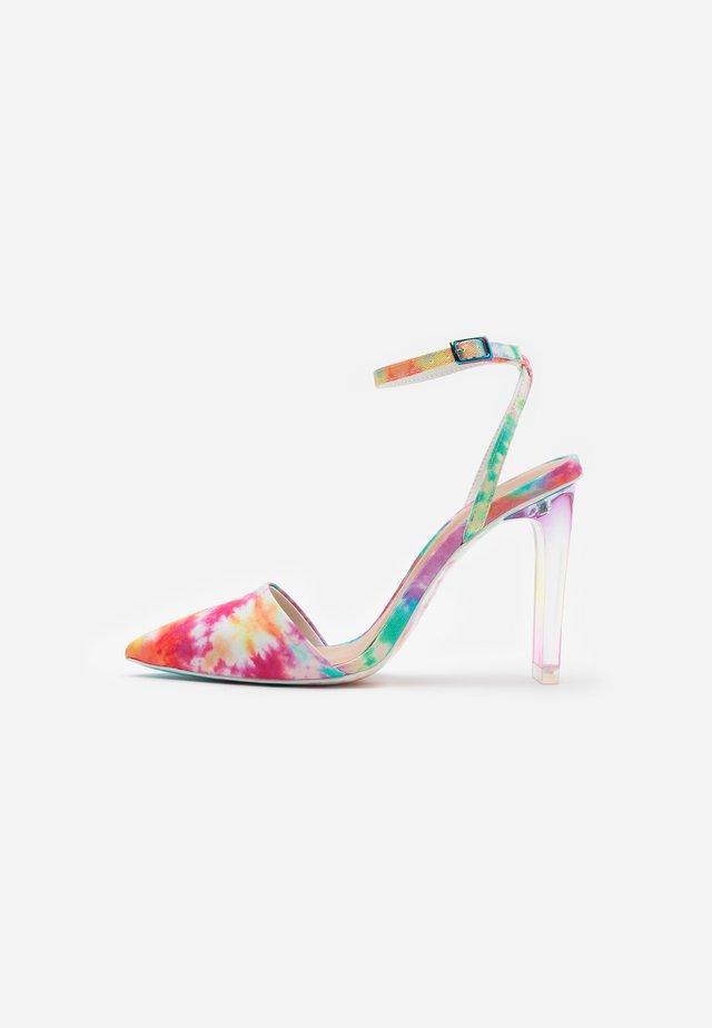 GLAMOURISS - Escarpins à talons hauts - pastel/multicolor