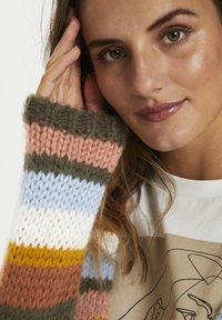 Kaffe - KAMERLA - Cardigan - multi color stripe - 3