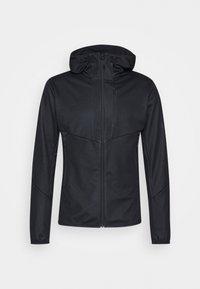 ULTIMATE HOODED JACKET MEN - Softshellová bunda - black