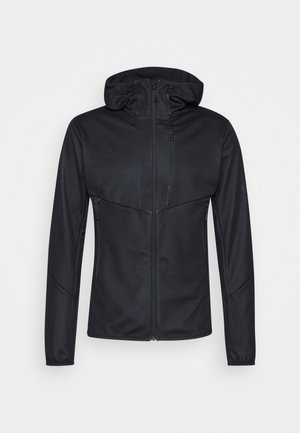 ULTIMATE HOODED JACKET MEN - Softshelljakke - black