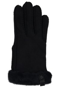 UGG - SHORTY GLOVE TRIM - Gloves - black - 1