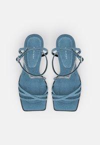 Topshop - NIMBLE LOW CHAIN  - Sandals - blue - 5