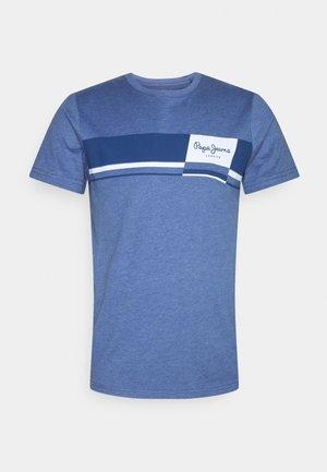 KADE - Print T-shirt - light thames
