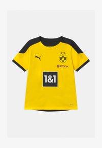 Puma - BVB BORUSSIA DORTMUND TRAINING UNISEX - Club wear - cyber yellow/puma black - 0