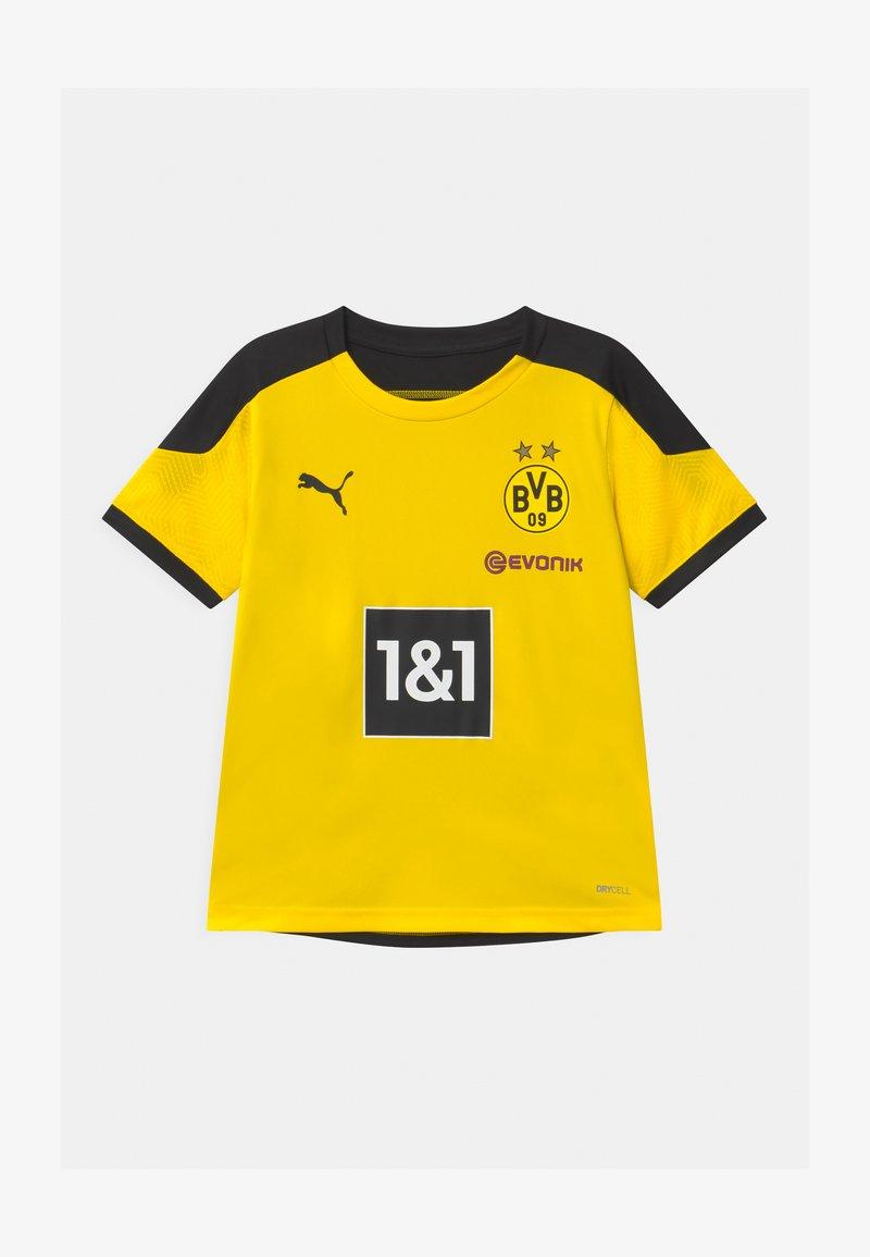 Puma - BVB BORUSSIA DORTMUND TRAINING UNISEX - Club wear - cyber yellow/puma black