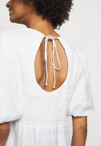Faithfull the brand - LORICA DRESS - Day dress - plain white - 5