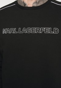 KARL LAGERFELD - CREWNECK - Sweatshirt - black - 7