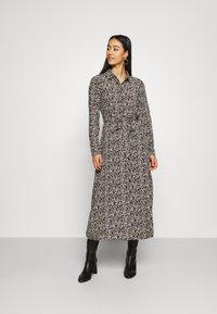 Vero Moda - VMJORDIN DRESS - Skjortekjole - black - 0
