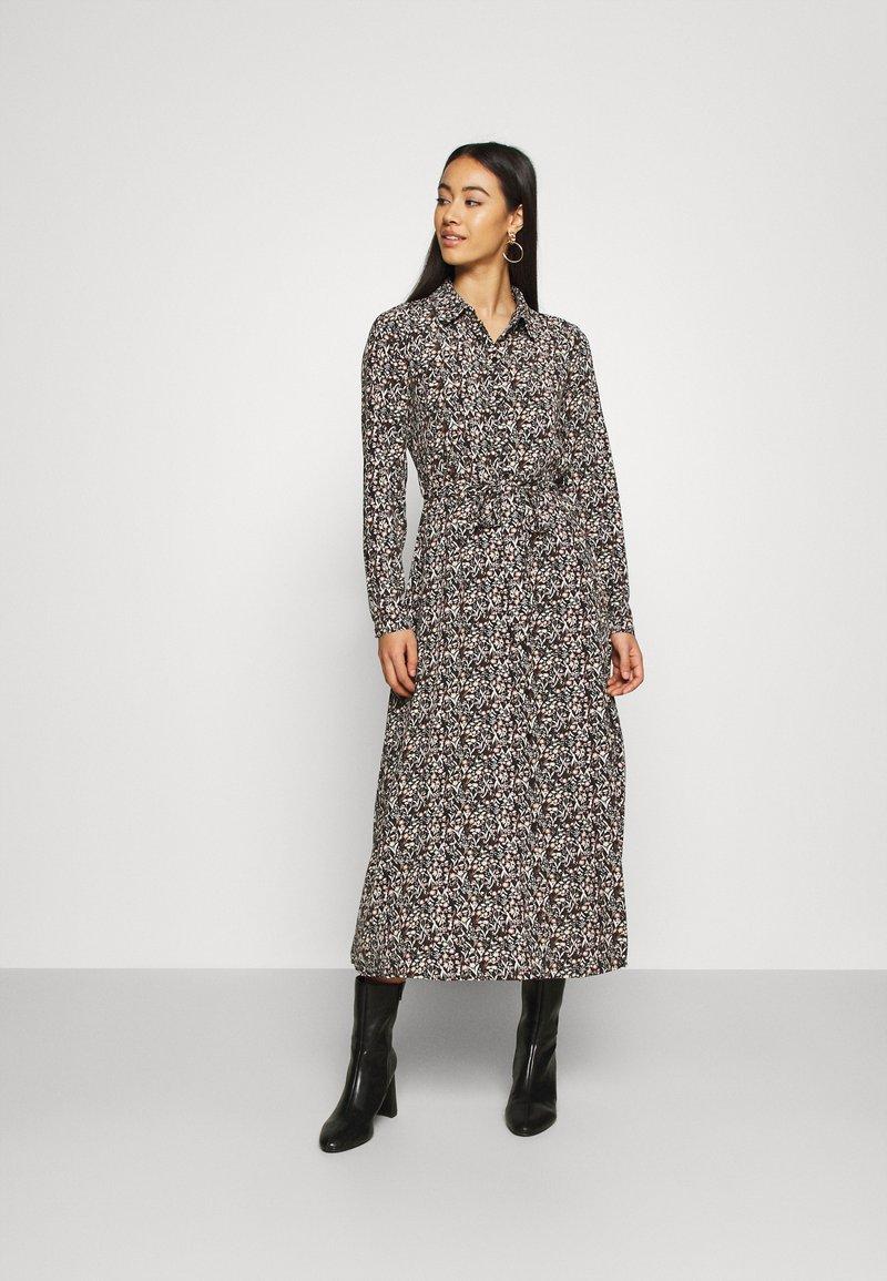 Vero Moda - VMJORDIN DRESS - Skjortekjole - black