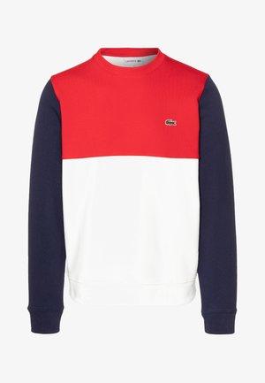 Sweatshirts - farine/rouge/marine