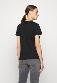 KARL LAGERFELD - IKONIK OUTLINE TEE - T-Shirt print - black - 2