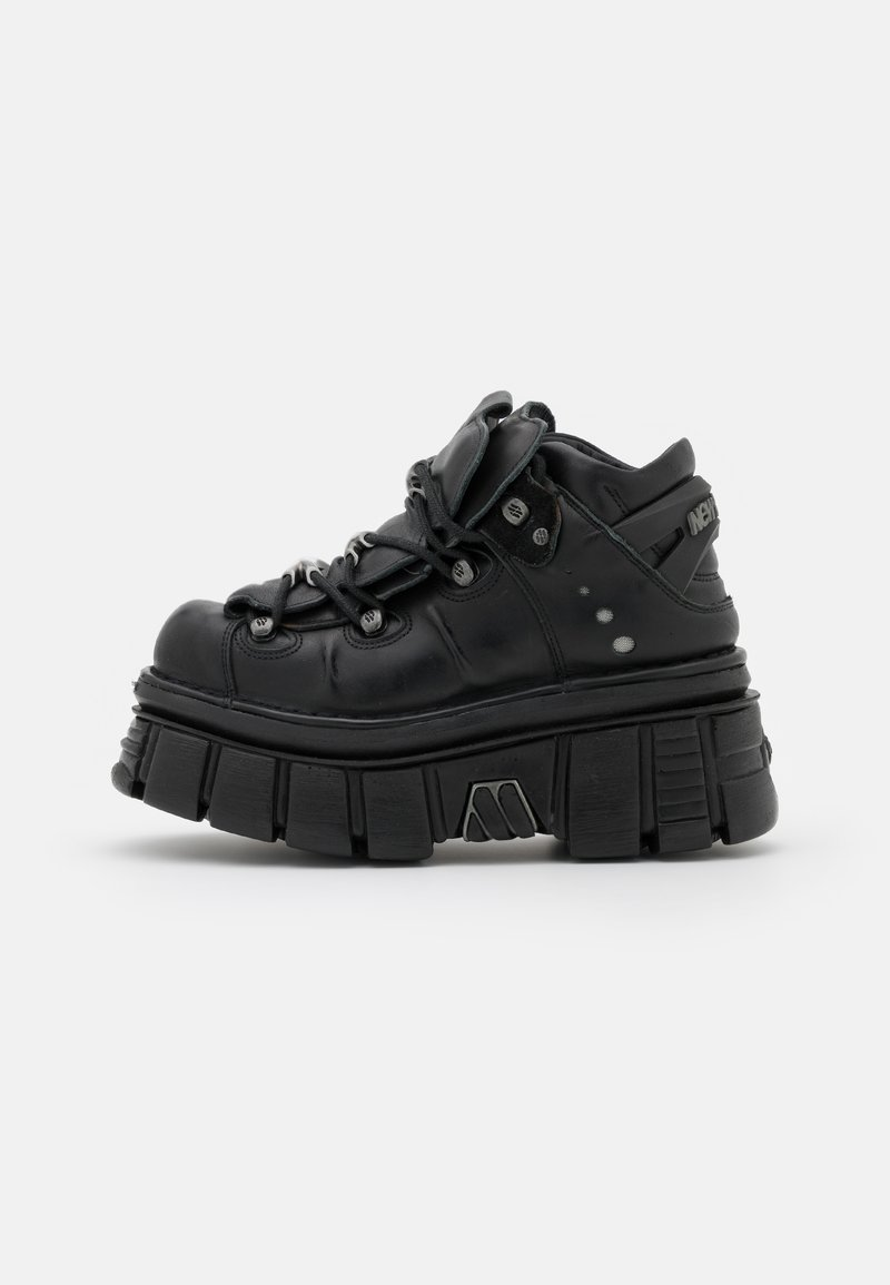 New Rock - UNISEX - High-top trainers - black