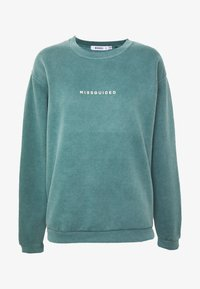 Missguided - WASHED - Sweatshirt - green - 3