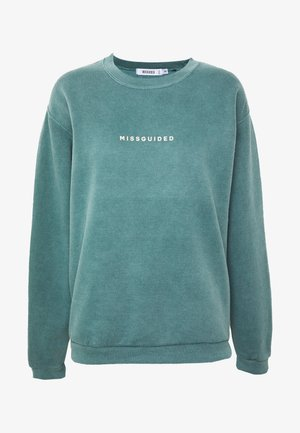 WASHED - Sweatshirt - green