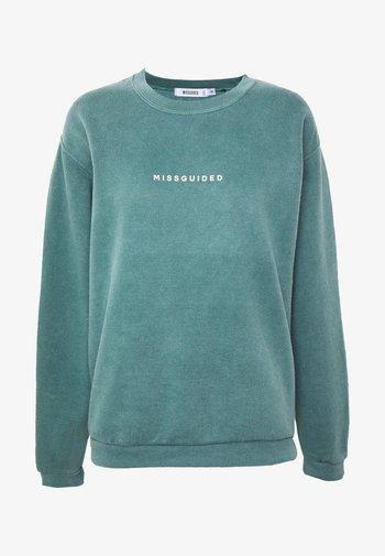 WASHED - Sweatshirt - green