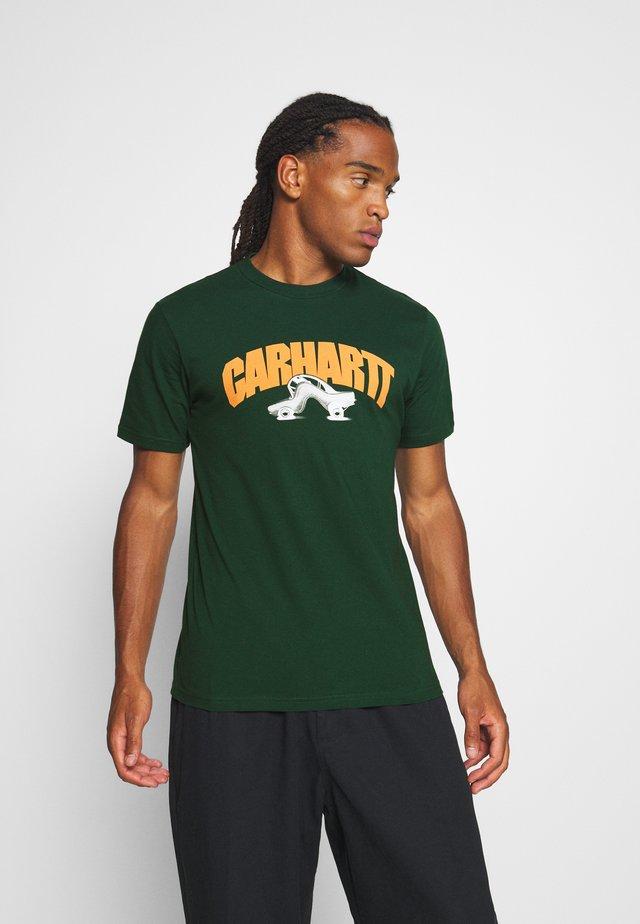 BENT - T-shirts med print - bottle green