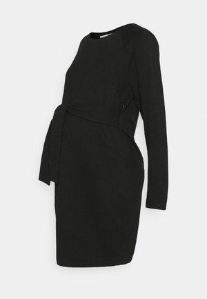 NURS SYDNEY - Žerzejové šaty - black