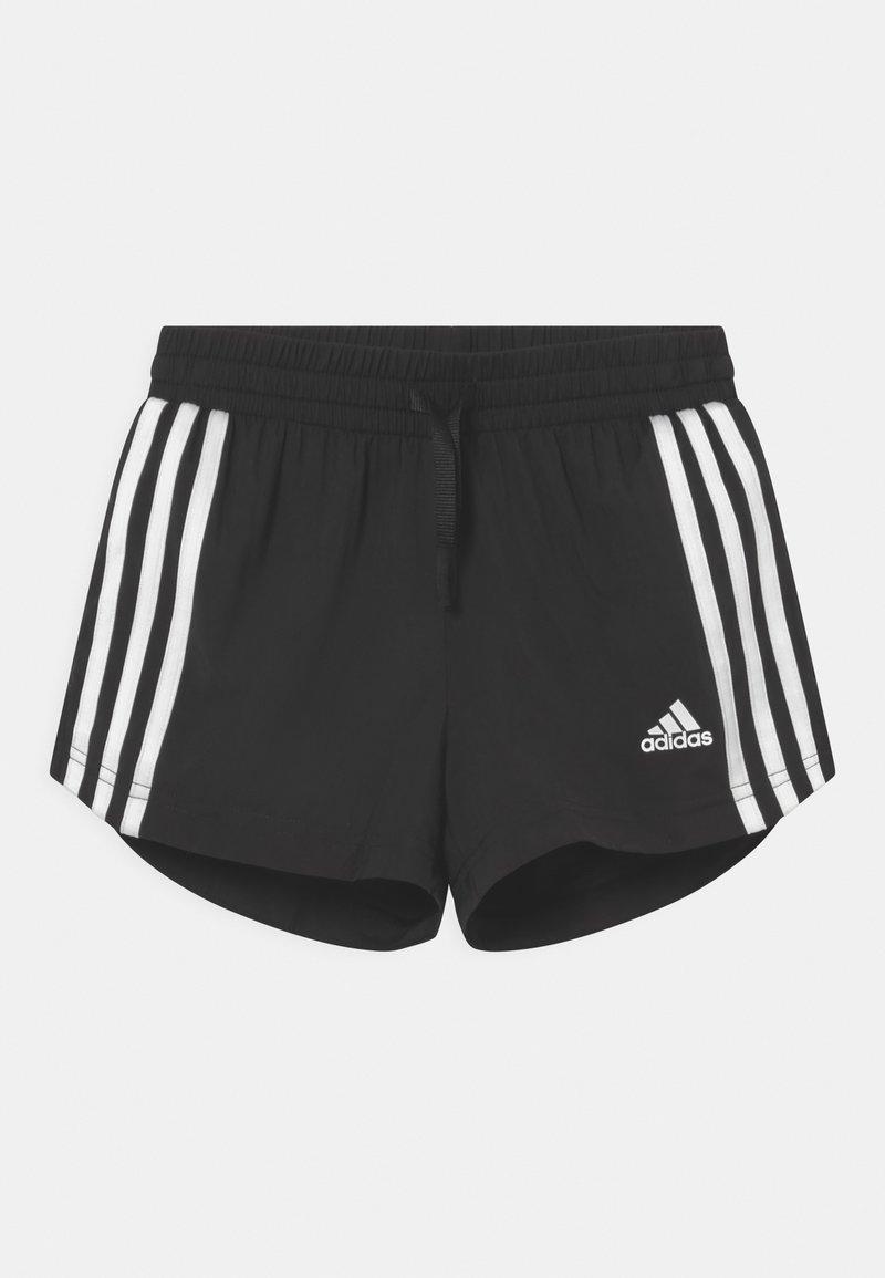 adidas Performance - Pantalón corto de deporte - black/white