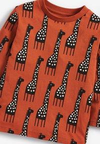Next - GIRAFFE - Long sleeved top - orange - 2