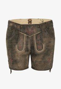 Spieth & Wensky - MIA - Leather trousers - braun - 6