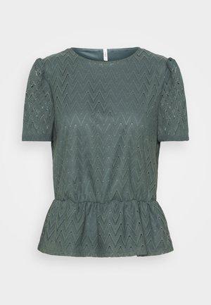 ONLTELIA  - Print T-shirt - balsam green