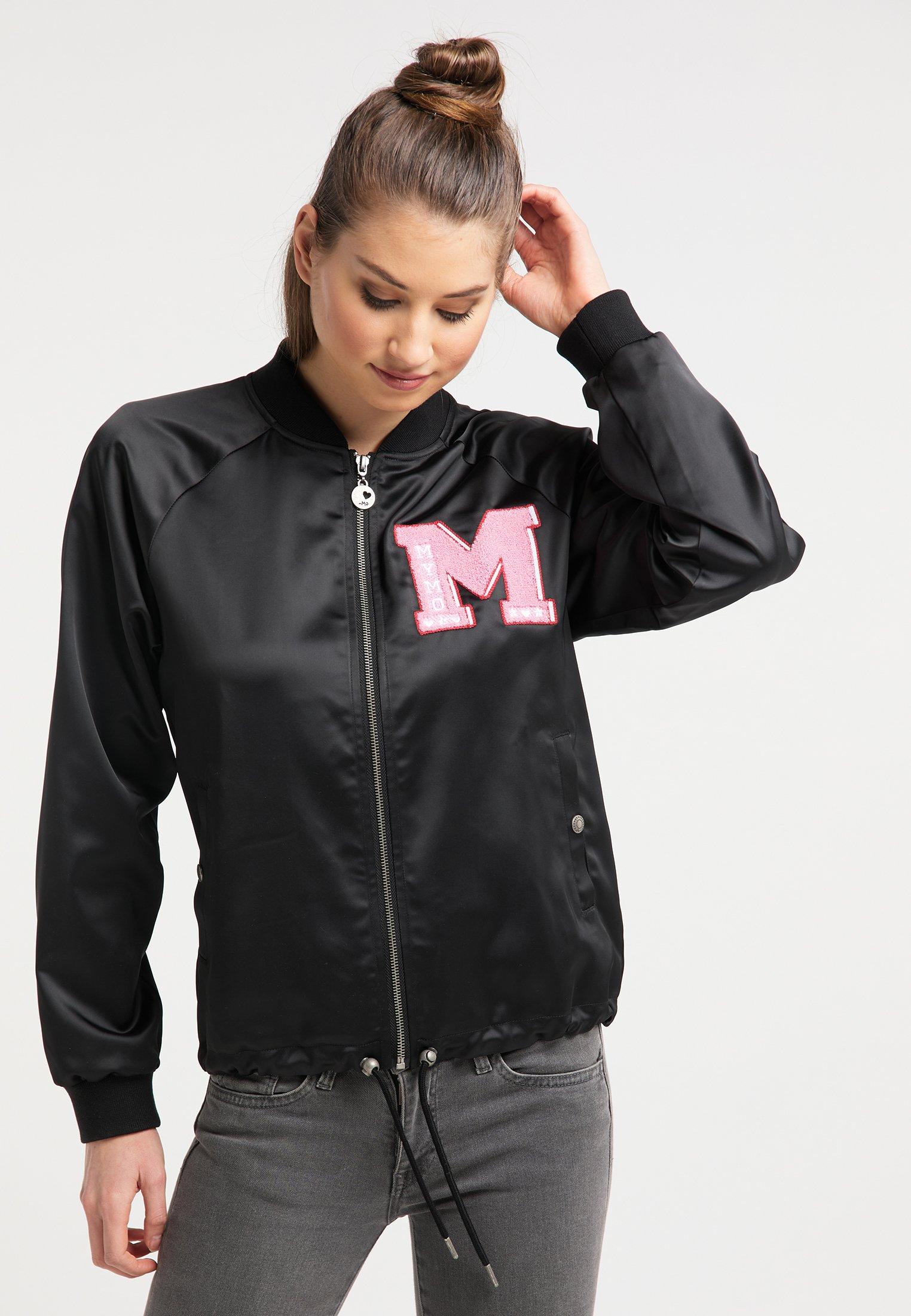 New And Fashion Women's Clothing myMo Bomber Jacket black hAoCU2skw