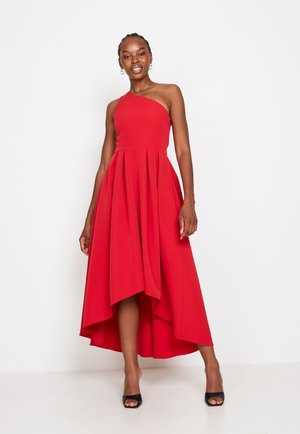 FRILL FIT &AMP - Cocktail dress / Party dress - red