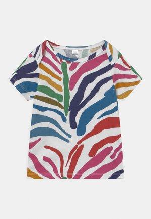 BABIES ZEBRA TEE UNISEX - T-shirt print - multi-coloured