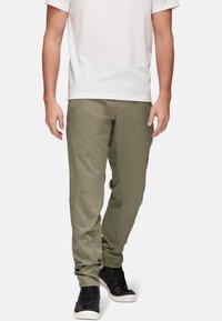 Mammut - CAMIE PANTS MEN - Trousers - grey - 0