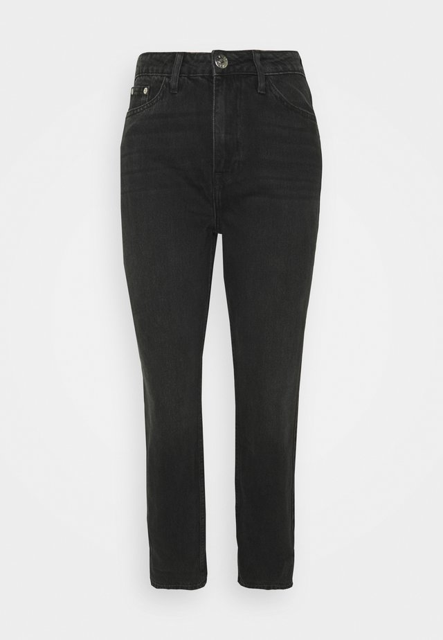 CARRIE CAVANA - Straight leg jeans - black