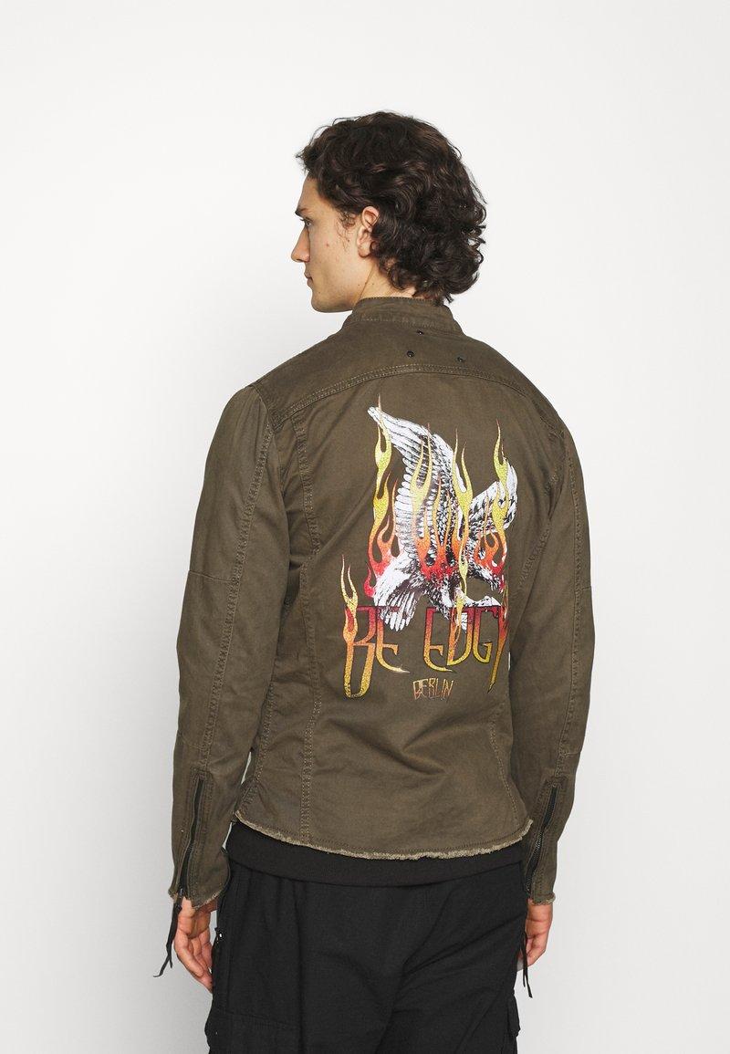 Be Edgy - FORREST - Denim jacket - khaki