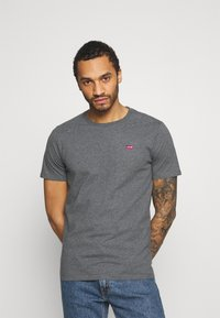 Levi's® - ORIGINAL TEE - Print T-shirt - greys - 0