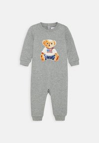 Polo Ralph Lauren - BEAR ONE PIECE COVERALL - Combinaison - andover heather - 0