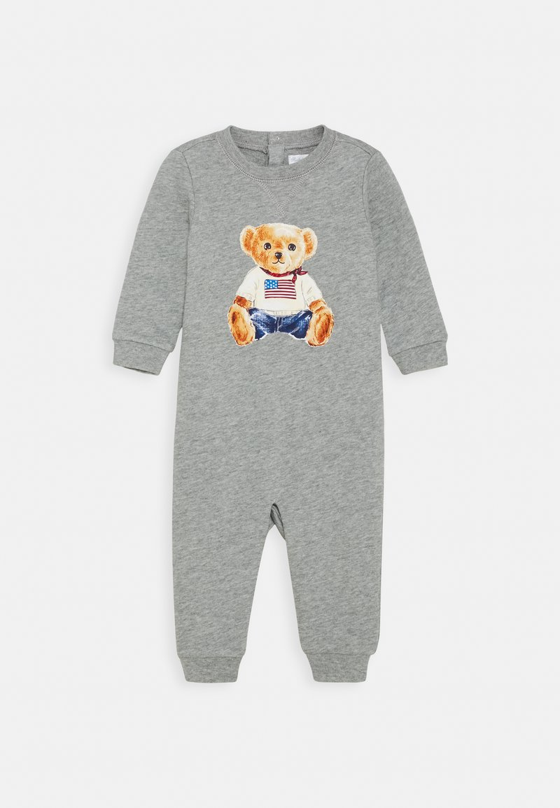 Polo Ralph Lauren - BEAR ONE PIECE COVERALL - Combinaison - andover heather