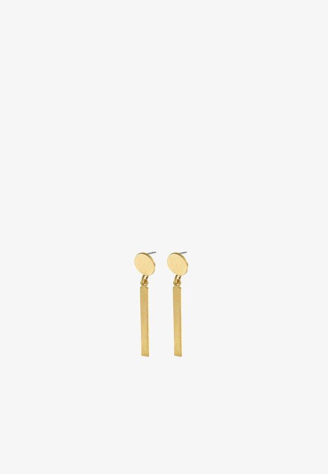 Boucles d'oreilles - gold plating