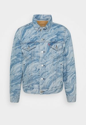 VINTAGE FIT TRUCKER - Denim jacket - blue denim