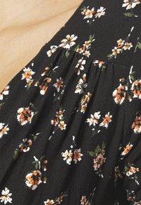 Anna Field - Žerzejové šaty - black/multicolor - 3