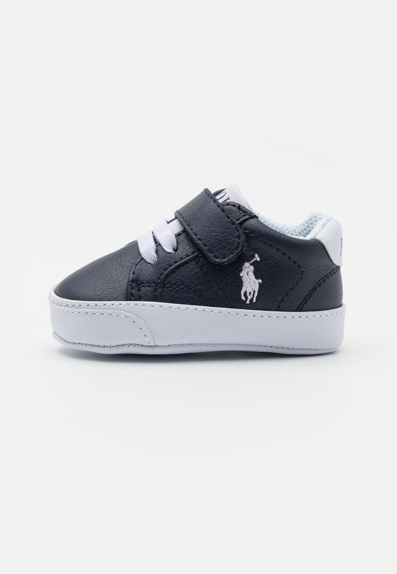 Polo Ralph Lauren - THERON IV LAYETTE UNISEX - First shoes - navy tumbled/white