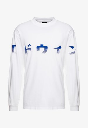 IMPRINT - T-shirt à manches longues - white