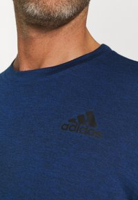 adidas Performance - T-shirts basic - team royal blue melange/black - 5