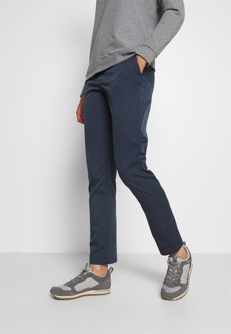 Jack Wolfskin - WINTER PANTS - Trousers - night blue