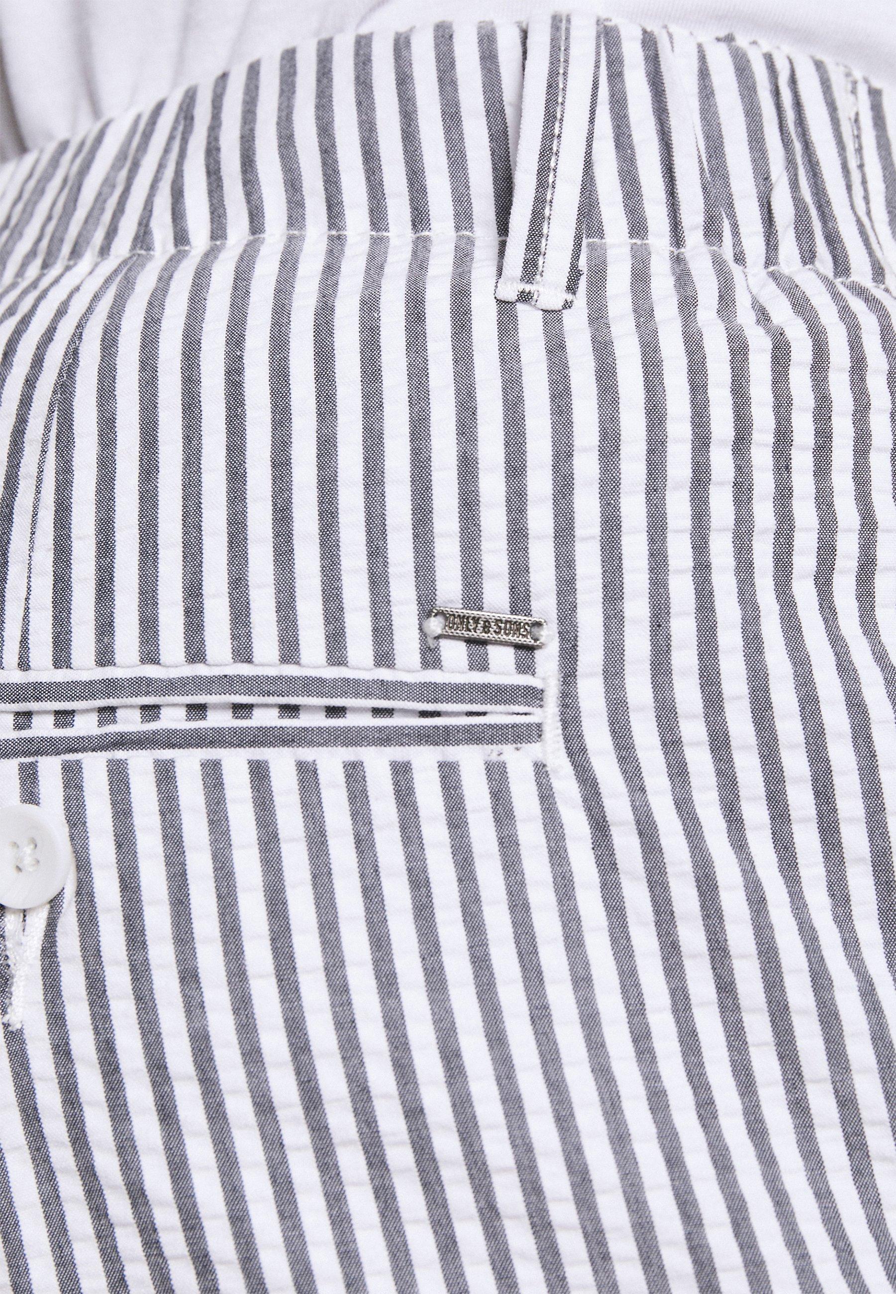 Uomo ONSLEO LIFE CROP SEERSUCKER - Pantaloni